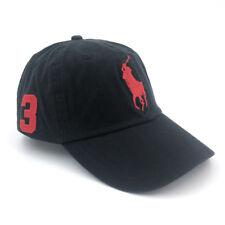item 4 Polo Baseball Cap With Fine Embroidery 3 Big Pony Logo Adjustable  Men s Hat NWT -Polo Baseball Cap With Fine Embroidery 3 Big Pony Logo  Adjustable ... bb6a532591e
