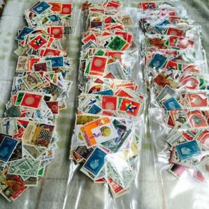 300-PCS-Lot-No-Repeat-Postage-Stamps-Collections-From-All-Over-The-World-With-Po