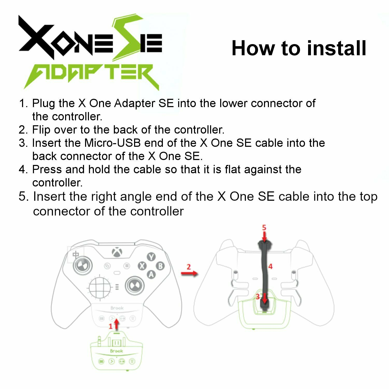 Image 91 - Brook X One SE Adapter for Xbox One Elite Series 1 Controller to Xbox One Series