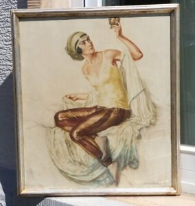 Ivo SALIGER 1894 - 1987 Wien - Freundin des Hafis 1925 - Erotik