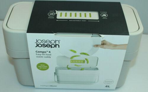 Joseph Joseph Compo 4 Bio-Mülleimer 4L Belüftungsklappe Halterung neu!