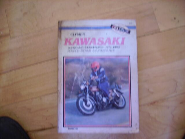 Kawasaki Kz 400 440 En450 Z440 En500 74