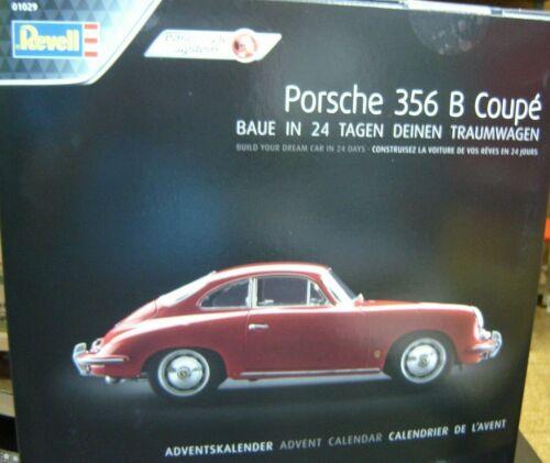 """Revell 1:16 01029 Adventskalender Porsche 356B Coupè /""""Neu/"""" 769"""