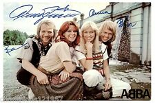 ABBA ++Autogramme++ ++POP Legende 70er Jahre++2