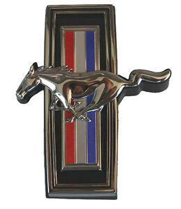 1991-1993 Ford  Mustang Dash Pad Emblem Pony /& Tri-Bar Running Horse