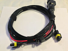 VW Golf MK5/JETTA Fog Light Harness, Quality British Made Braided