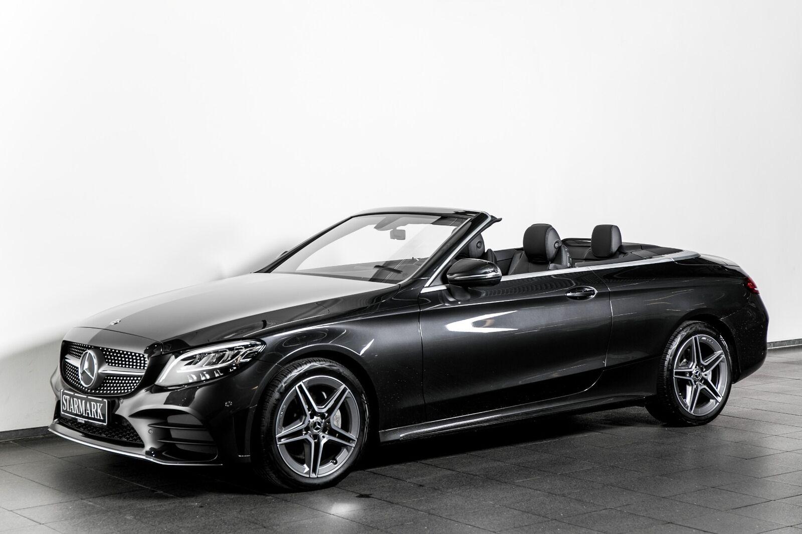 Mercedes-Benz C200 1,5 AMG Line Cabriolet aut.