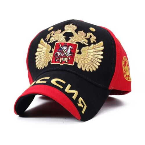 Baseball Cap With Russian Emblem Embroidery Red Blue White Hats Women Men Gorras