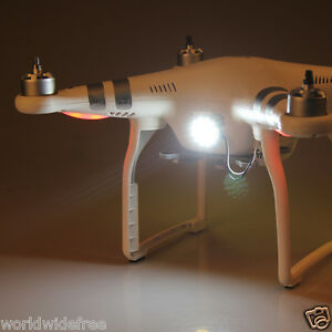 Professional-Pro-Advanced-LED-Headlight-White-fits-DJI-Phantom-3