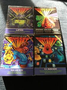 4-Vintage-Odyssey-2-Games-Complete-with-Original-Boxes-and-Instructions