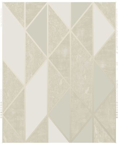 Superfresco Easy Taupe Milan Geometric Wallpaper