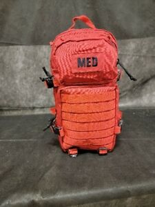 Elite First Aid Tactical Trauma Kit #3 Stocked With Backpack Medic Survival