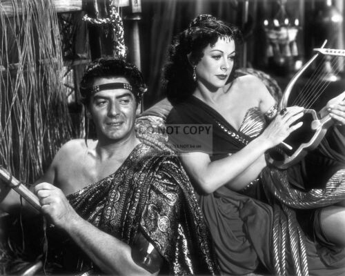 """RT453 HEDY LAMARR AND VICTOR MATURE IN /""""SAMSON AND DELILAH/"""" 8X10 PHOTO"""