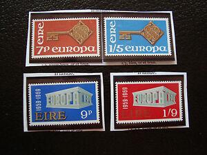 Ireland-Stamp-Yvert-and-Tellier-N-203-204-232-233-N-A22-Stamp-Ireland