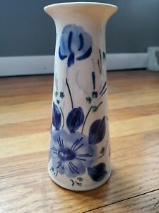 Blue-Ridge-China-Vase-In-the-Mood-Indigo-Pattern-7-1-4-Southern-Potteries