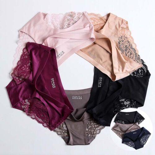Lingerie Briefs Underwear Hipster Women/'s Underpants Soft Seamless Panties