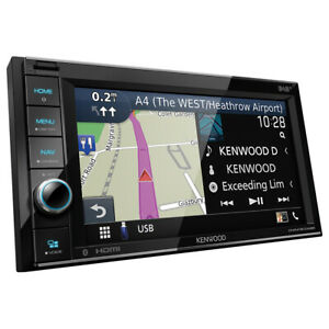 KENWOOD 2-DIN DNR4190DABS Auto Radioset für NISSAN Micra K12 - 2006-2010