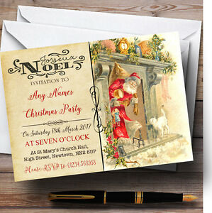 postcard party invitations