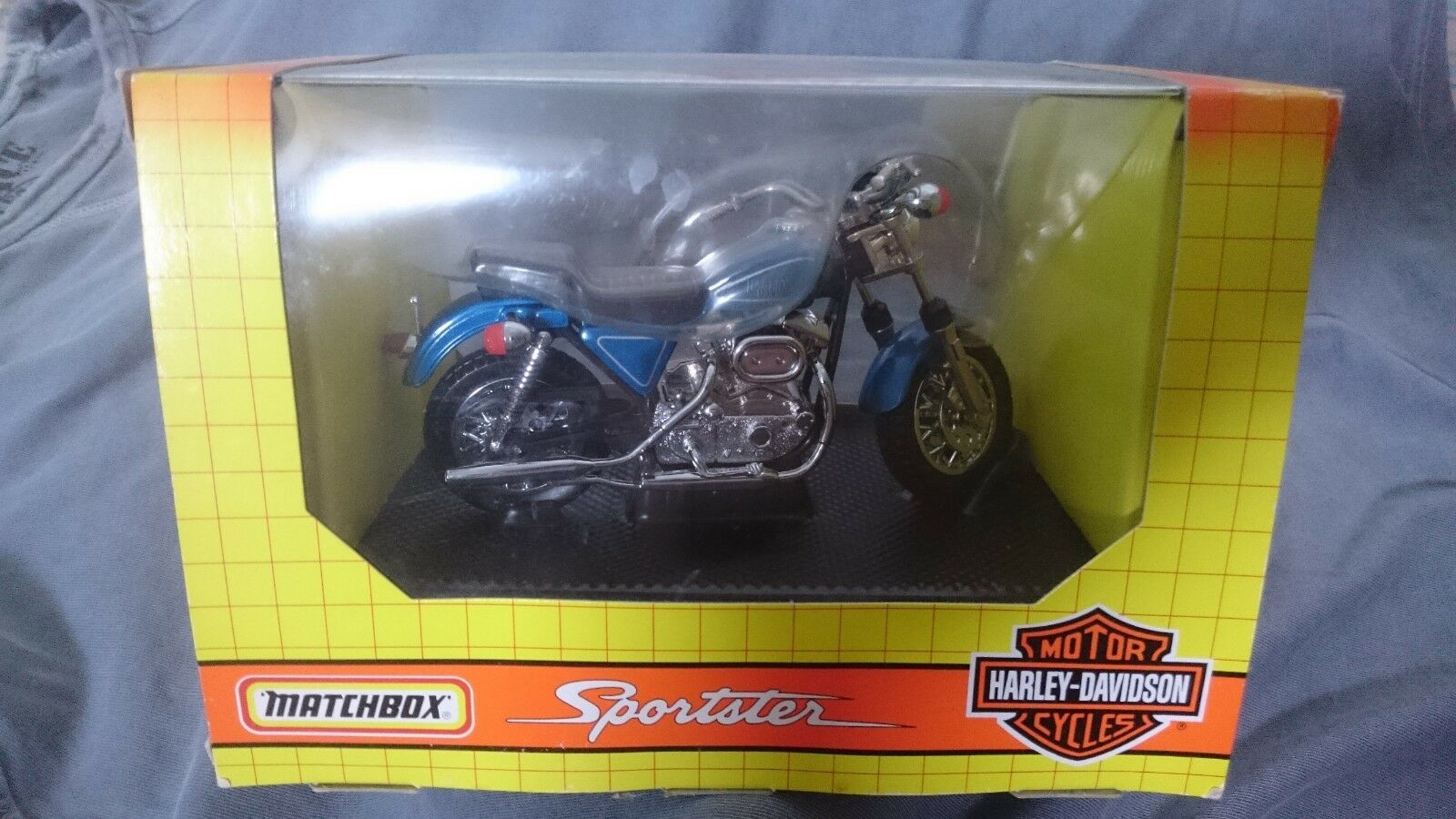 MATCHBOX HARLEY DAVIDSON SPORTSTER SPECIAL EDITION 73330 1 15 SCALE