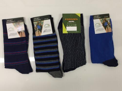 40 PAIRS MEN/'S MIX SOCKS COTTON RICH  FORMAL SOCKS UK  size     6-11  DFRTT