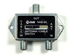Philmore Coaxial A/B  Game Antenna Cable TV CATV Slide Switch