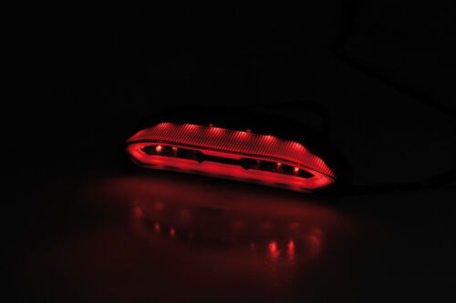 DEL Feu Arrière Noir Honda CBR 600 RR pc40 teinté DEL Tail Light
