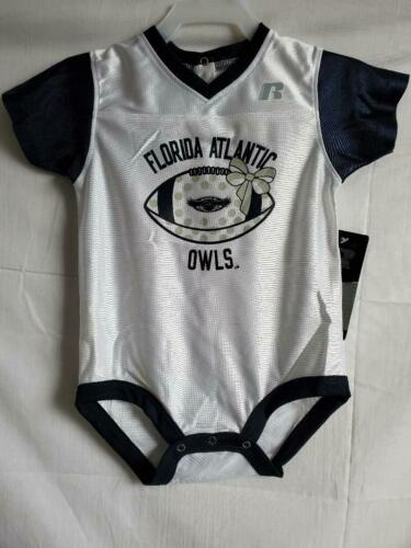 "RUSSELL FLORIDA ATLANTIC BABY BODYSUIT /""OWLS/"" ASSORTED SIZES #435"