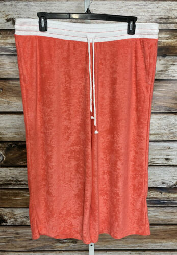 Cuddl Duds Baby Terry Gaucho Pants Womens Sz 1X T… - image 1