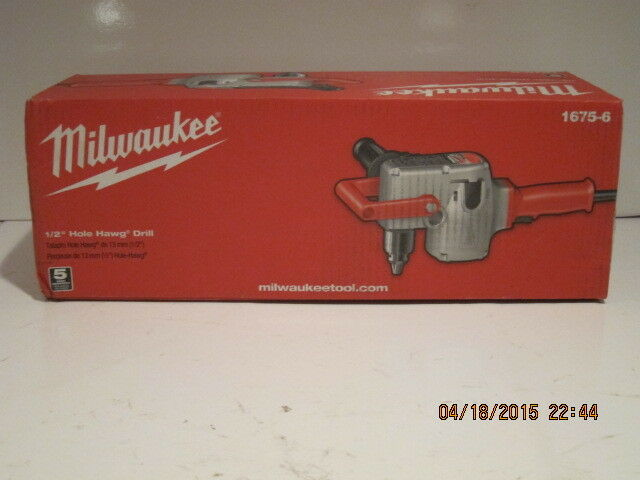 Milwaukee Milwaukee Milwaukee 1675-6, agujero de 1/2