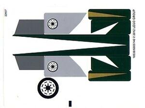 LEGO 9498 - STAR WARS - Saesee Tiin's Jedi Starfighter - STICKER SHEET