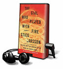 The Girl Who Played with Fire by Stieg Larsson (Pre-recorded digital audio player, 2010)