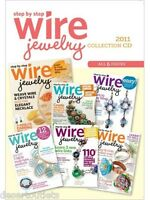 Step-by-step Wire Jewelry 2011 Collection [cd] [6 Issues]