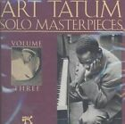 The Art Tatum Solo Masterpieces, Vol. 3 by Art Tatum (CD, Pablo Records)