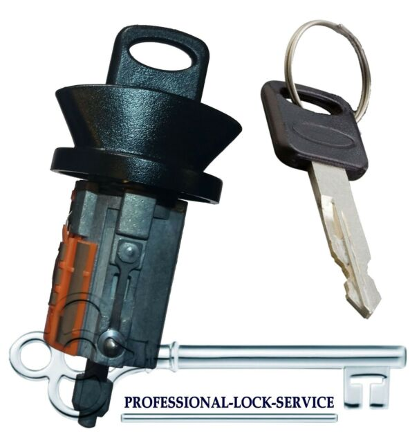 Ford F Series /& Others Door Lock Key Cylinder Tumbler Pair Set 2 Keys