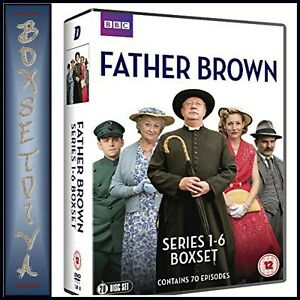 FATHER-BROWN-COMPLETE-SERIES-1-2-3-4-5-amp-6-BRAND-NEW-DVD-BOXSET