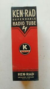 Vtg-Ken-Rad-Radio-Tube-1D7G-Untested-Boxed-NOS-NEW-Made-in-USA