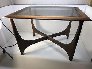 1970-Lane-Silhouette-Pearsall-Era-Glass-Top-Coffee-Table-Mid-Century-Mod