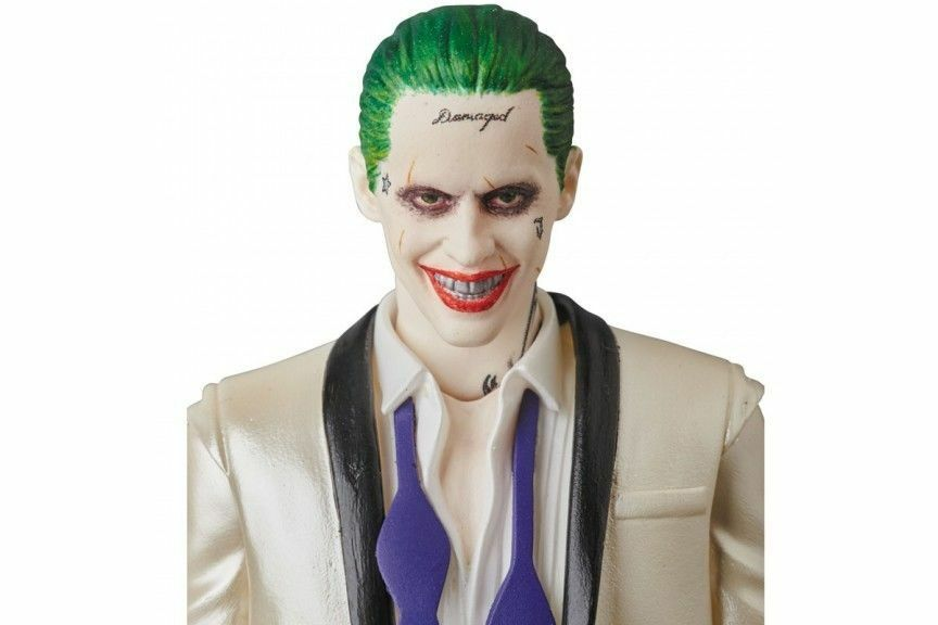 MAFEX No.039 MAFEX THE JOKER (SUITS Ver.) SUICIDE SQUAD Medicom giocattolo Japan nuovo