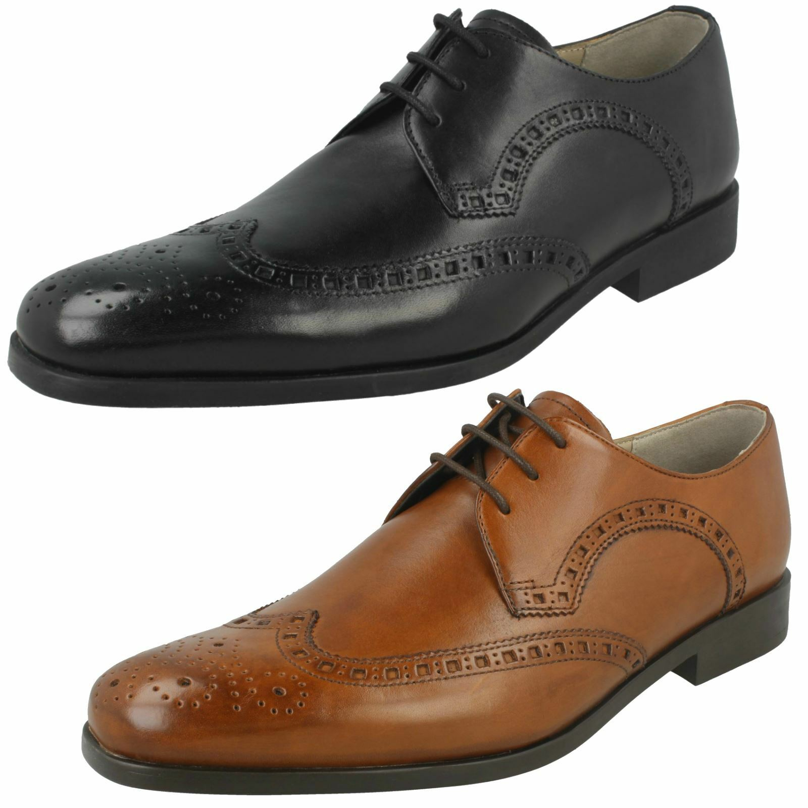 Mens Clarks Formal Brogues - Amieson Limit