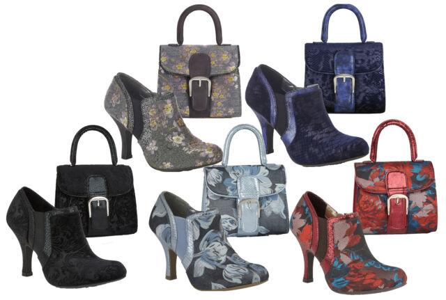 Add Matching Bag Cancun Ruby Shoo Ladies Vegan Low Heel Slip On Loafer Shoes