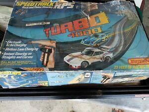 1979-Vintage-Matchbox-Turbo-4000-Race-Car-Set-In-Original-Box