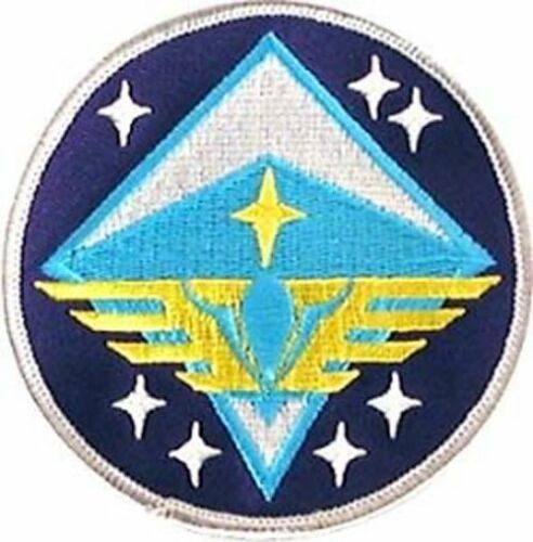 """SABPA-13 Space Above /& Beyond 5th Air-wing Logo 3.5./"""" Embroid Patch-USA Maile"""