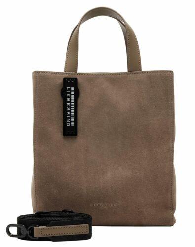 LIEBESKIND BERLIN Paper Bag S Handtasche Tasche Light Cement Braun Neu