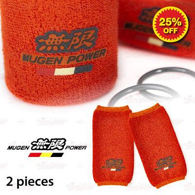 2x SPOON Brake Clutch Reservoir Oil Cap Tank Cover Sock for Acura Honda Accord