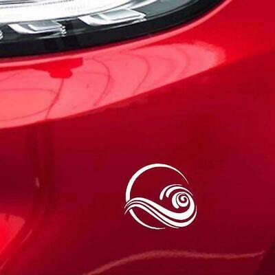 "small 7x3/"" surfs up waves fun car van surfing vinyl sticker decal shop sign vw"