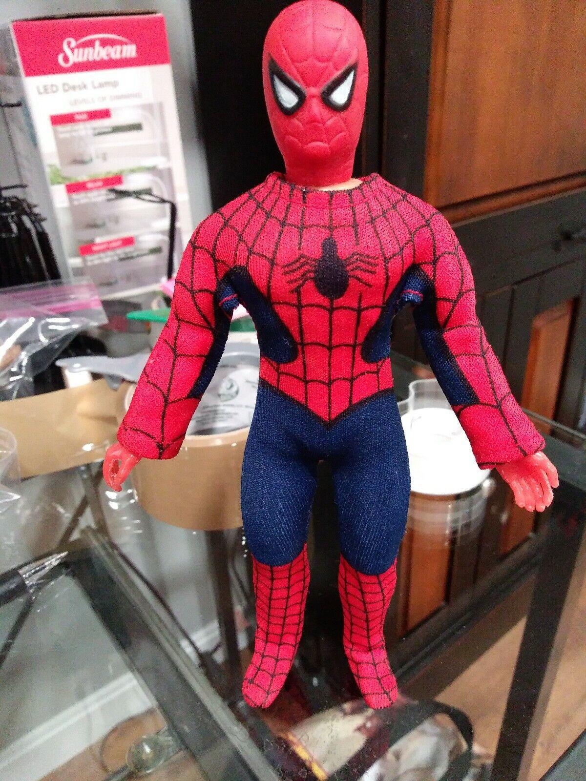 Fist Fighting Spiderman UK Rare Mego Figure 8