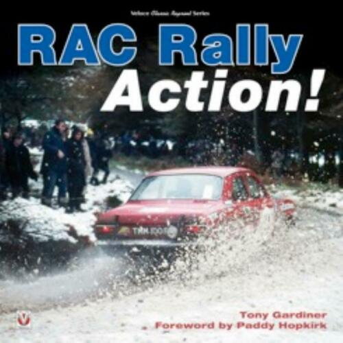 dalla anni 1960 1970s 1980s MOTOR RACING NUOVO LIBRO RAC Rally Action