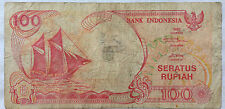Indonesia 100 Rupiah 1992 note (fine condition)