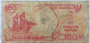 Indonesia-100-Rupiah-1992-note-BJO-152859-fine-condition