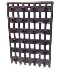 LEGO Portcullis Gate 1 x 8 x 12 Pearl Dark Grey Castle Kingdoms TMNT Chima